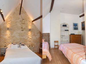 2 chambres confortables et agréables